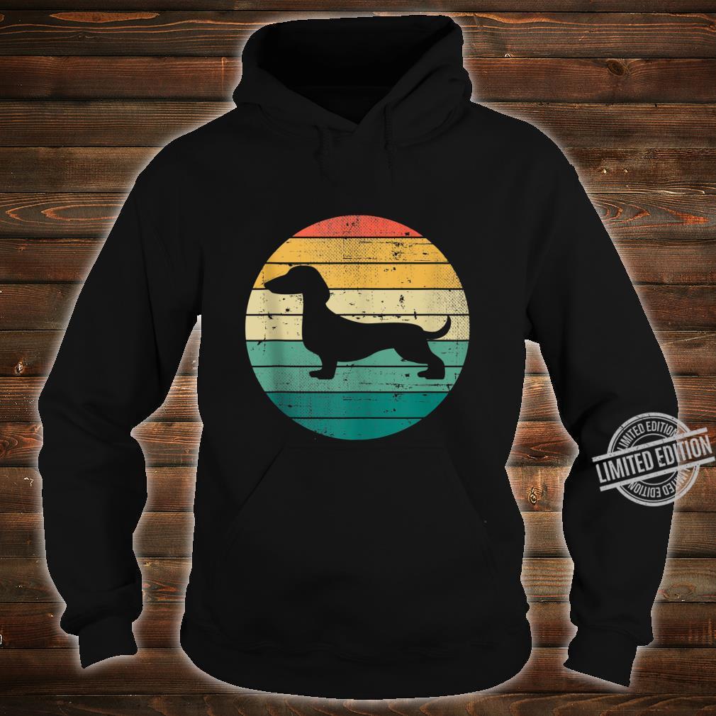 Retro Vintage Dachshund Dogs Owner Dog Puppy Shirt hoodie