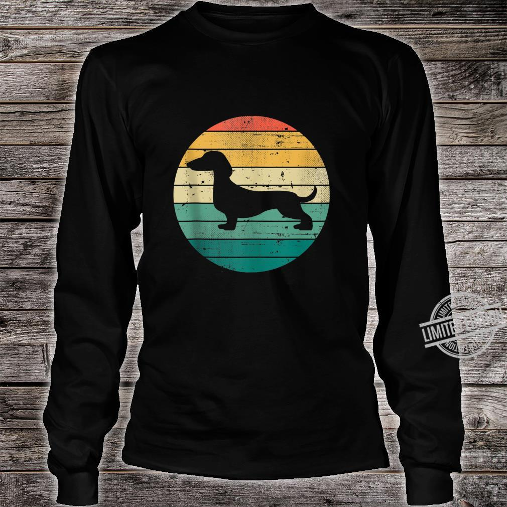 Retro Vintage Dachshund Dogs Owner Dog Puppy Shirt long sleeved