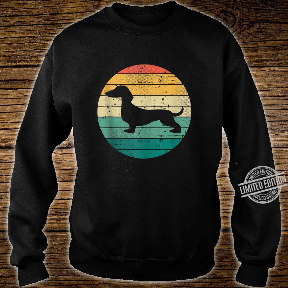 Retro Vintage Dachshund Dogs Owner Dog Puppy Shirt sweater