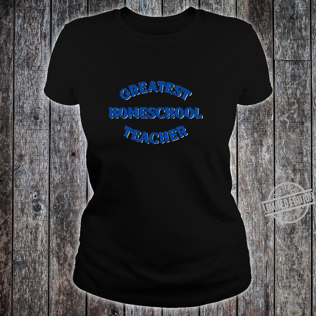 Schule zu Hause Langarmshirt Shirt ladies tee