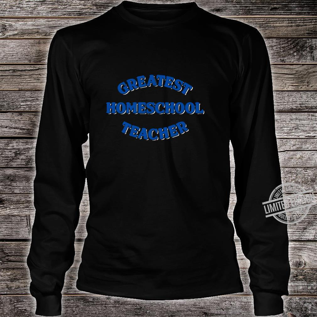 Schule zu Hause Langarmshirt Shirt long sleeved