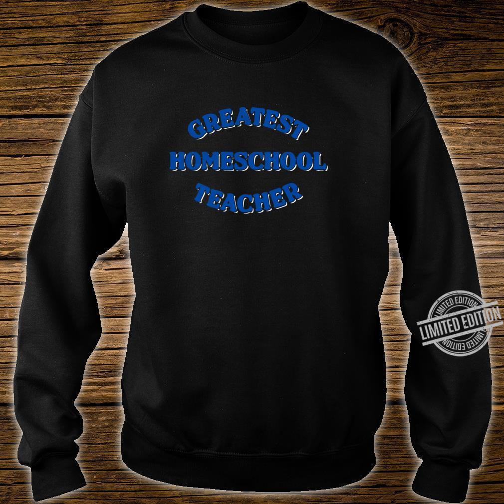 Schule zu Hause Shirt sweater
