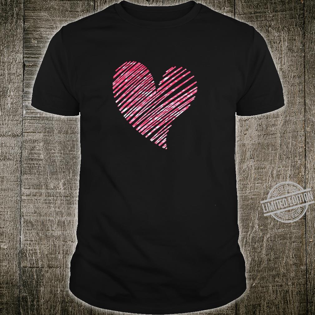 Scribbled Heart Shirt