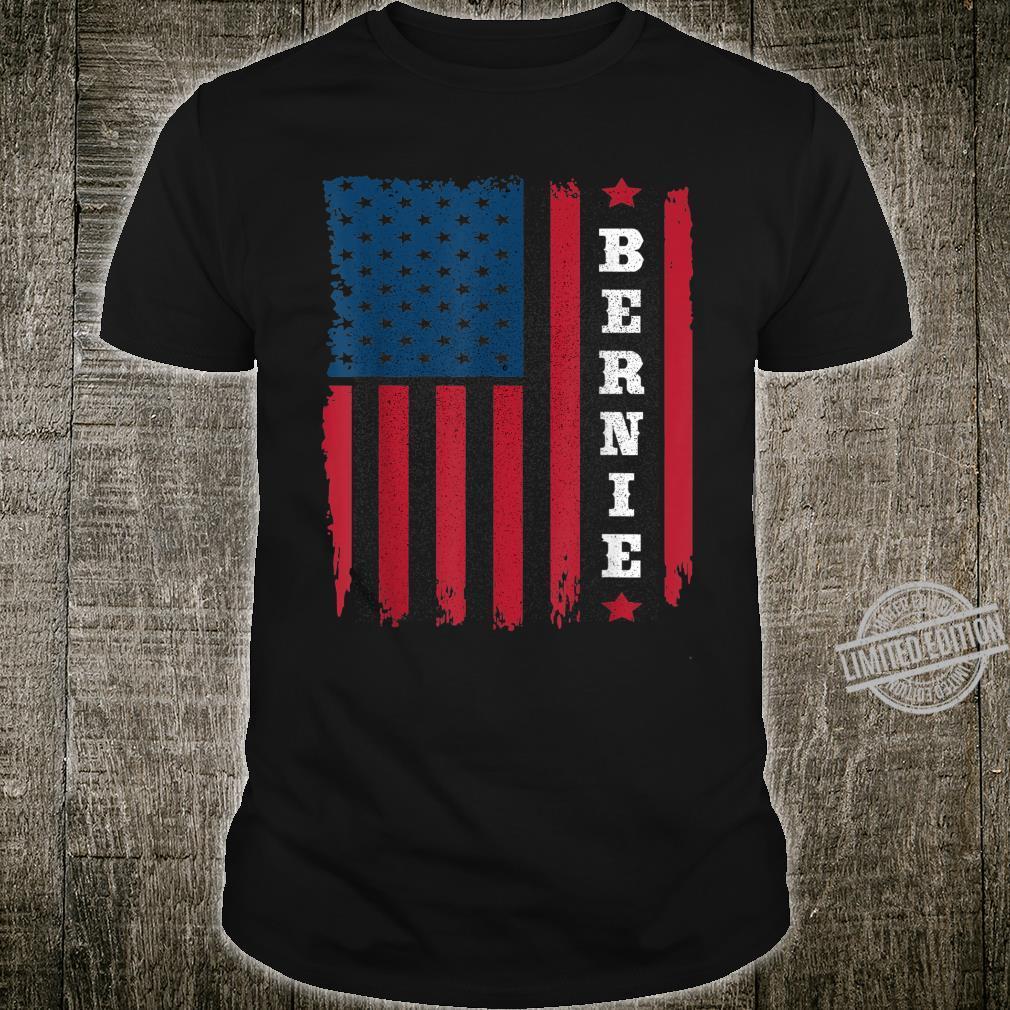 Vintage USA Flag Bernie Sanders Shirt