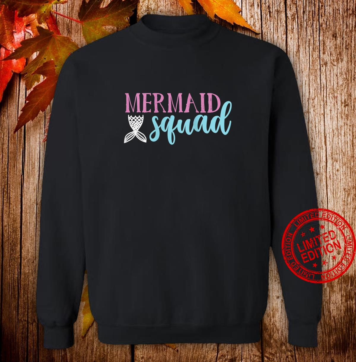 Womens Cute Mermaid Squad Shirt Mermaids Shirt sweater