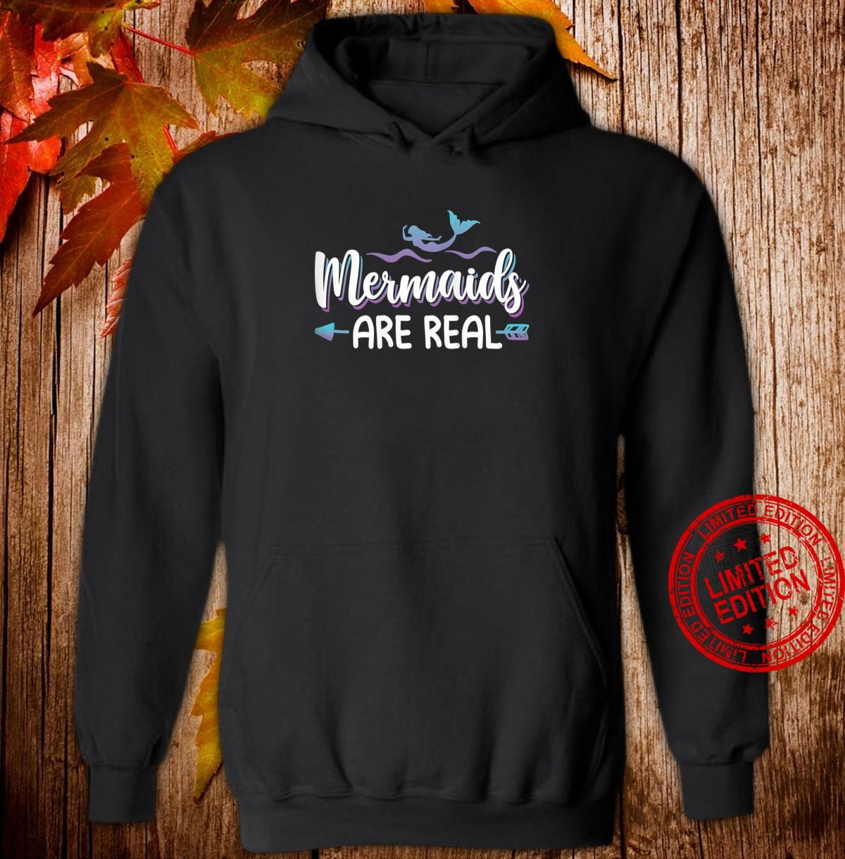 Womens Cute Mermaids Are Real Shirt Mermaid Shirt hoodie