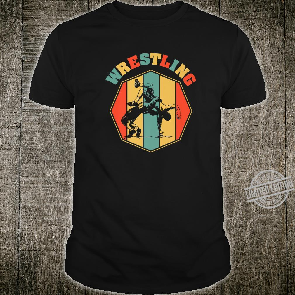 Wrestling Wrestlers Sport Vintage Wrestler Shirt