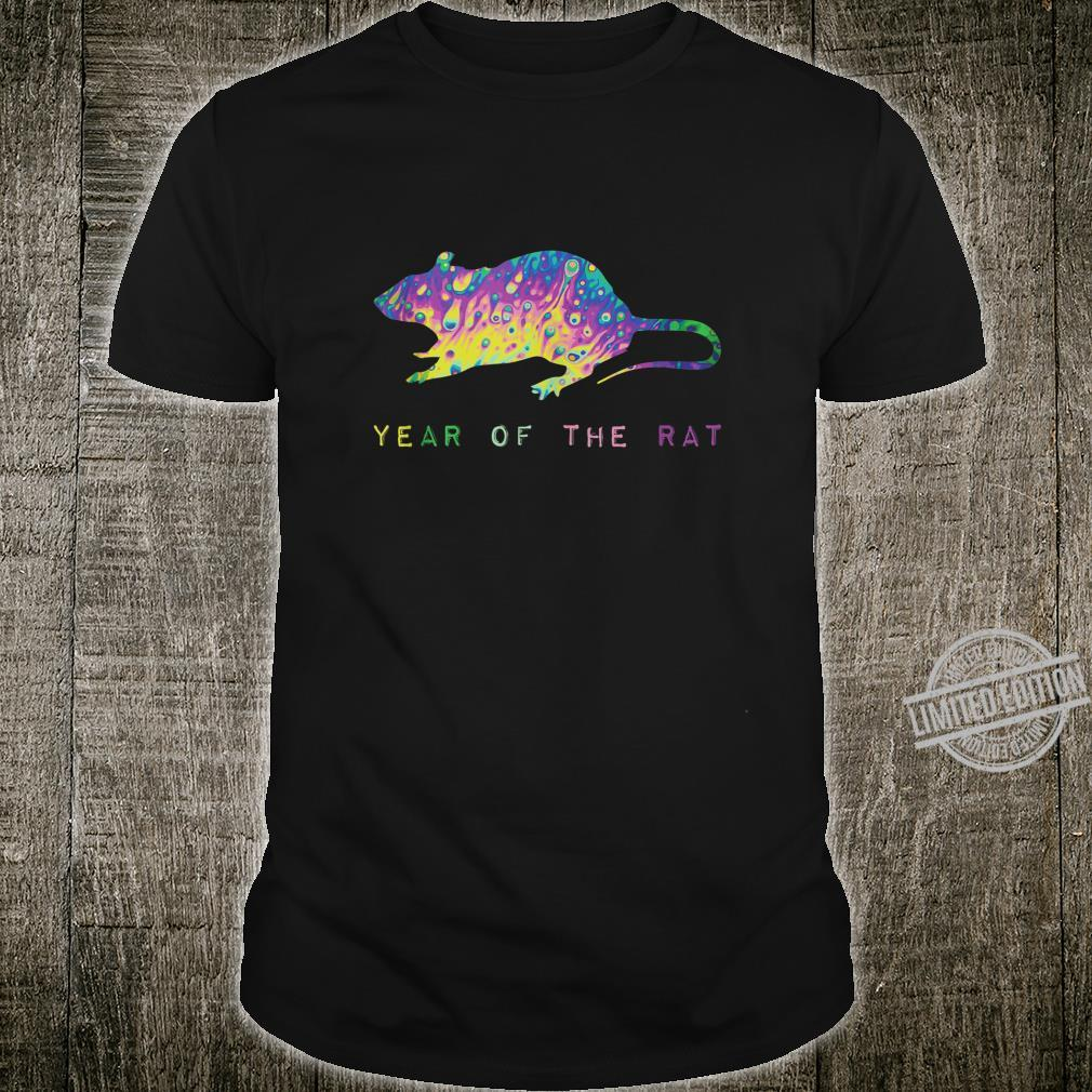Year Of The Rat Colorful Chinese New Year 2020 Humor Shirt